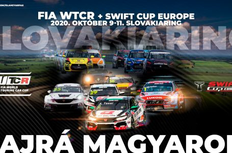 Slovakiaringen a WTCR és a Swift Cup Europe
